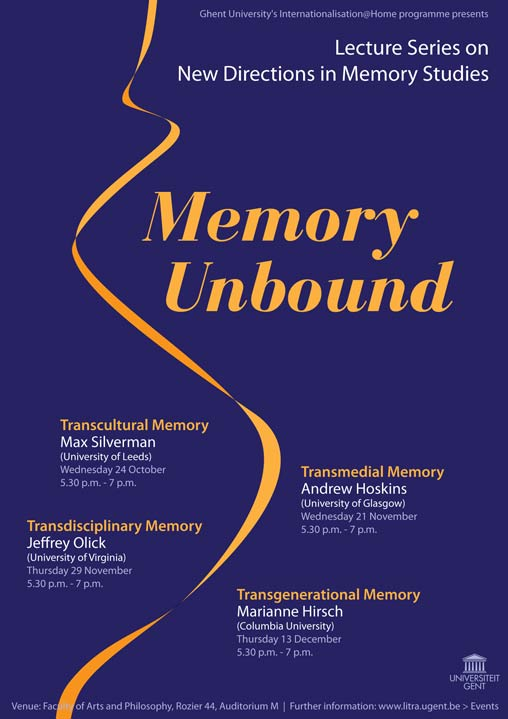 "Internationalisation@Home Lecture Series ""Memory Unbound"""
