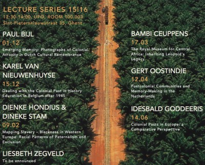 TAPAS Lecture Series: Colonial Legacies in the Low Countries