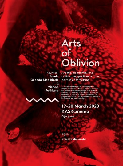 """Arts of Oblivion"" Symposium – POSTPONED"