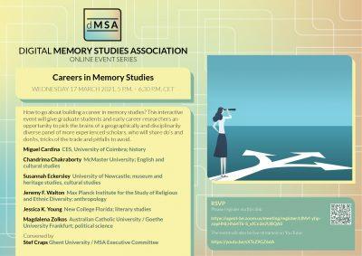 dMSA: Careers in Memory Studies
